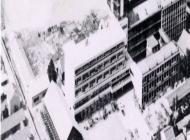 169.昭和44年 本館完成直後の航空写真