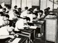 昭和35年頃の男子商業科
