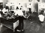 昭和35年頃の電気科