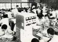 昭和35年頃の応用化学科